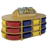 Five Piece Low Storage Island