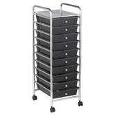 10-Drawer Mobile Organizer