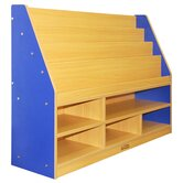 Colorful Essentials� Book Display with Storage - 6 Compartment
