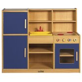 Colorful Essentials 4-in-1 Play Kitchen