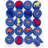 20 Pieces My 1st Animals Stamper