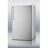 Refrigerator Freezer with Crisper Cover Glass Type