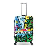 "Spring Love 27"" Hardsided Spinner Suitcase"