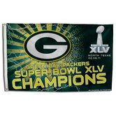 Green Bay Packers Super Bowl XLV Traditional Flag