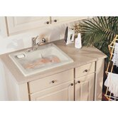 "Reliance 11.5"" x 25"" Jentle Jet Laundry Sink"