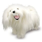 Maltese Plush Stuffed Animal
