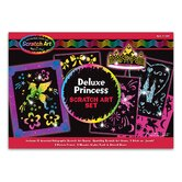 Deluxe Princess Scratch Art Set