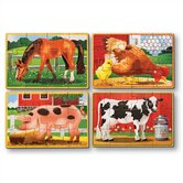Farm in a Box Wooden Jigsaw Puzzle
