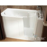 GelCoat 60&quot; x 30&quot; Bath Tub with Dual Massage