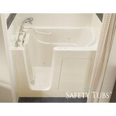 "GelCoat 54"" x 30"" Bath Tub with Jet Massage"