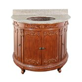 Semi-Circle Bathroom Vanity Set