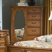 Southern Heritage 6 Drawer Wardrobe