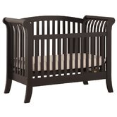 100 Series Convertible Crib in Rubbed Black