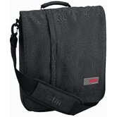 Alley Laptop Shoulder Bag in Carbon