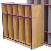 Child Locker with Top Cubbies