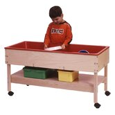 Sand and Water Table with Shelf