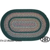 Tapestry Hunter Green Multi Rug