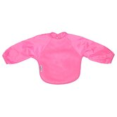 Long Sleeve Fleece Bib in Fuchsia