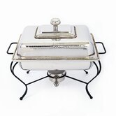 Nickel 8 Qt Rectangle Chafing Dish
