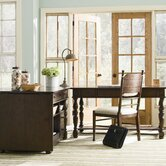 Down Home Office Suite in Distressed Molasses Finish