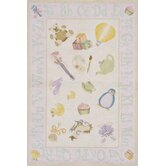 Classic Soft Pink Kids Rug