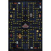 Lil Mo Whimsy Space Game Kids Rug