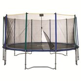15ft Round Trampoline & Enclosure Set