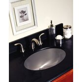 Advantage Carolina Undermount Oval Bathroom Sink