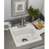 Advantage Warren Retangular Self Rimming Bar Prep Sink