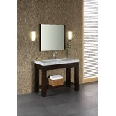 "Europa 48"" Bathroom Vanity in Dark Walnut"