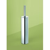 Edera Toilet Brush Holder in Chrome