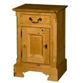 Bowland 1 Drawer Bedside Table
