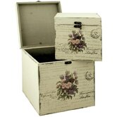 Flower Bouquet Storage Box (Set of 2)