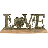 Love Heart Motto Stand