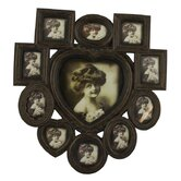 Heart Multi Photo Frame