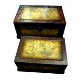 Marbled Box (Set of 2)