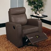 Slope Leather Recliner