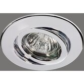 Quality Line 1 x 50W Swiveling Downlight in Chrome