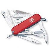 Minichamp Multi-Tool Pocket Knife in Red