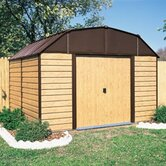 Woodhaven Steel Storage Shed