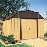 Woodview Steel Storage Shed