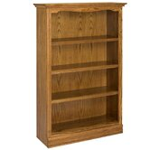 "Americana 60"" Oak Bookcase"