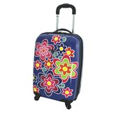 Contempo 21&quot; Hardsided Spinner Carry-On Suitcase