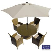 Sandford 4 Seater Outdoor Dining Set
