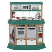 American Plastic Toys Play Kitchen Sets