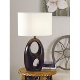 Table Lamp in Merlot