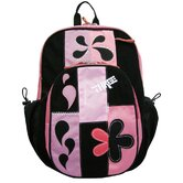 Patchwork Backpack in Pink