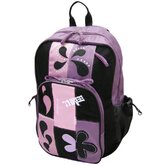 Patchwork Backpack in Purple