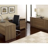 "63"" Crescent Desk Suite"