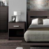 Cosmopolis 1 Drawer Nightstand